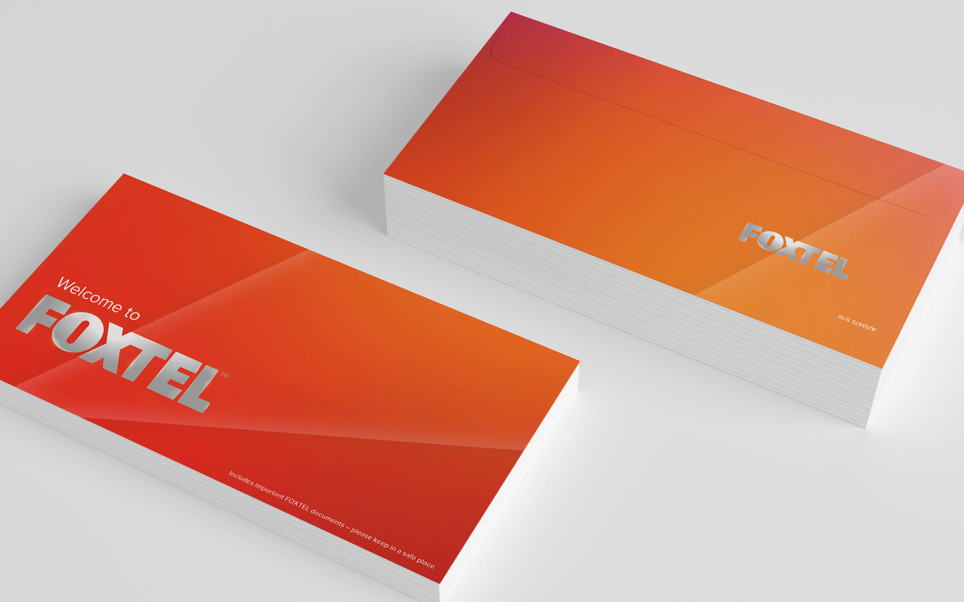 FOXTEL marketing, advertising & publications designed by Amy Howard
