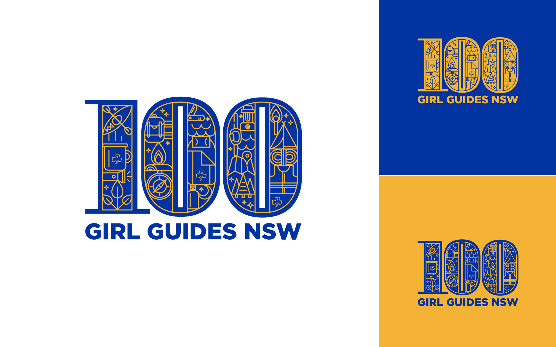 Girl Guides Australia marketing materials designed by Amy Howard at Yellow Sunday