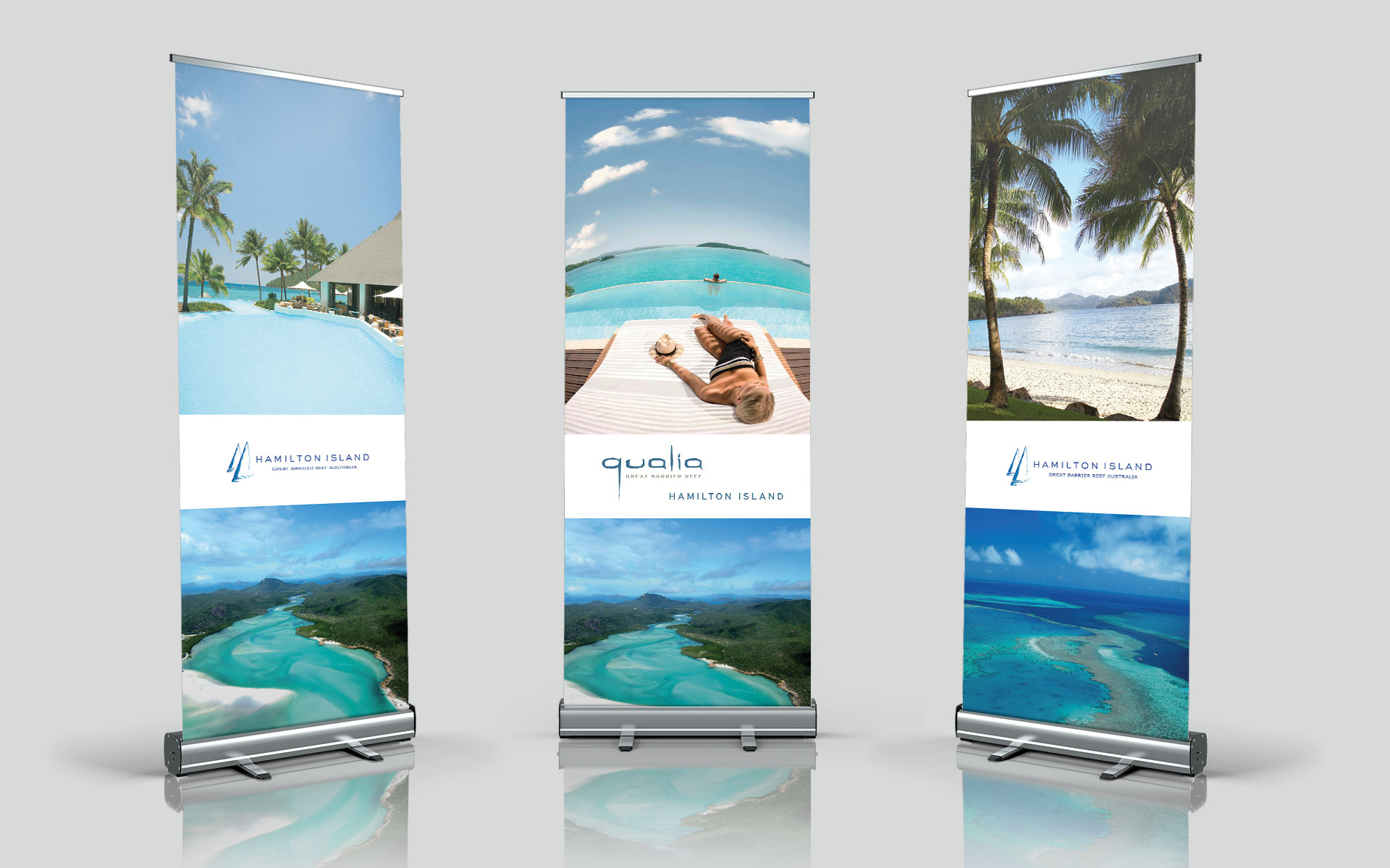 Hamilton Island marketing, advertising, publications & events designed by Amy Howard