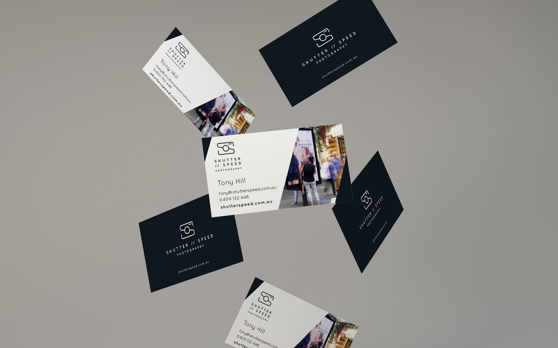 Shutterspeed logo, branding, marketing & online design & build by Amy at Yellow Sunday