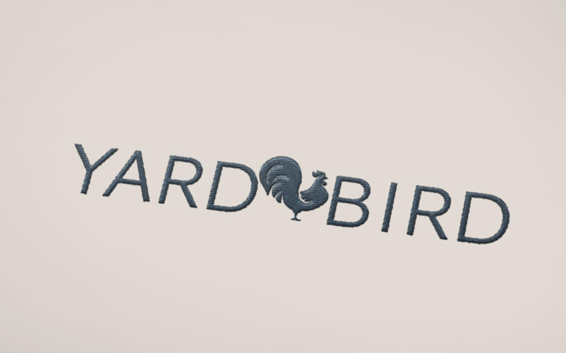 Yardbird branding designed by Amy at Yellow Sunday