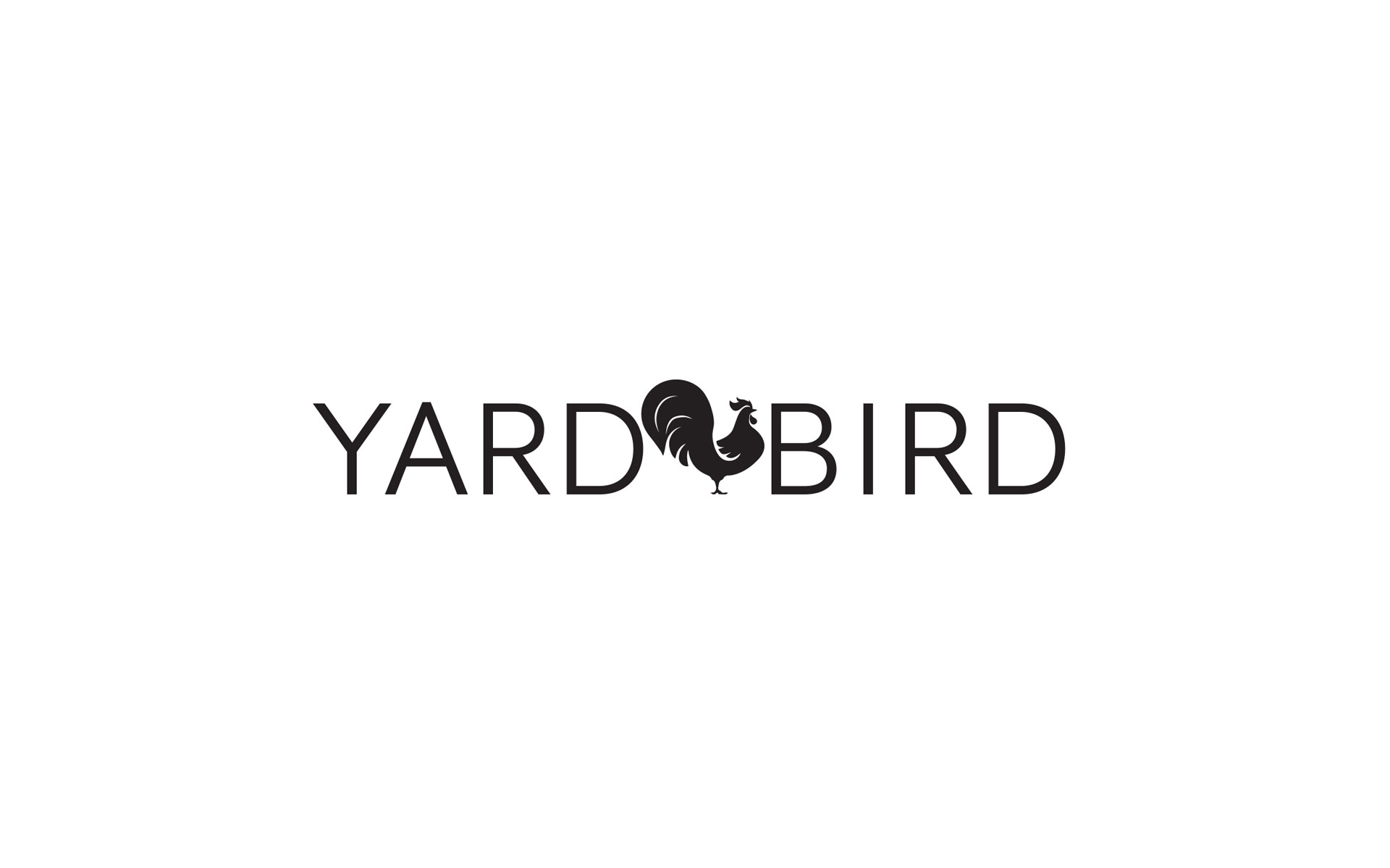 Yardbird branding designed by Amy at Yellow Sunday